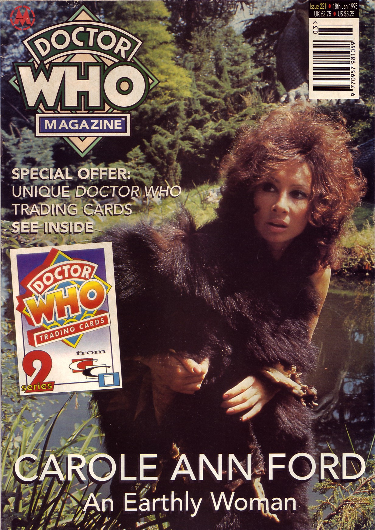 Doctor Who Magazine Vol 1 221