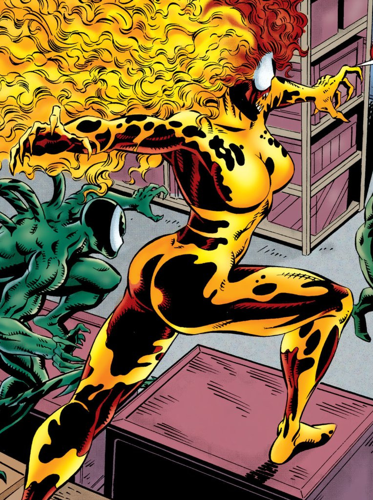 Donna Diego (Earth-616) from Venom Separation Anxiety Vol 1 3 0001.jpg