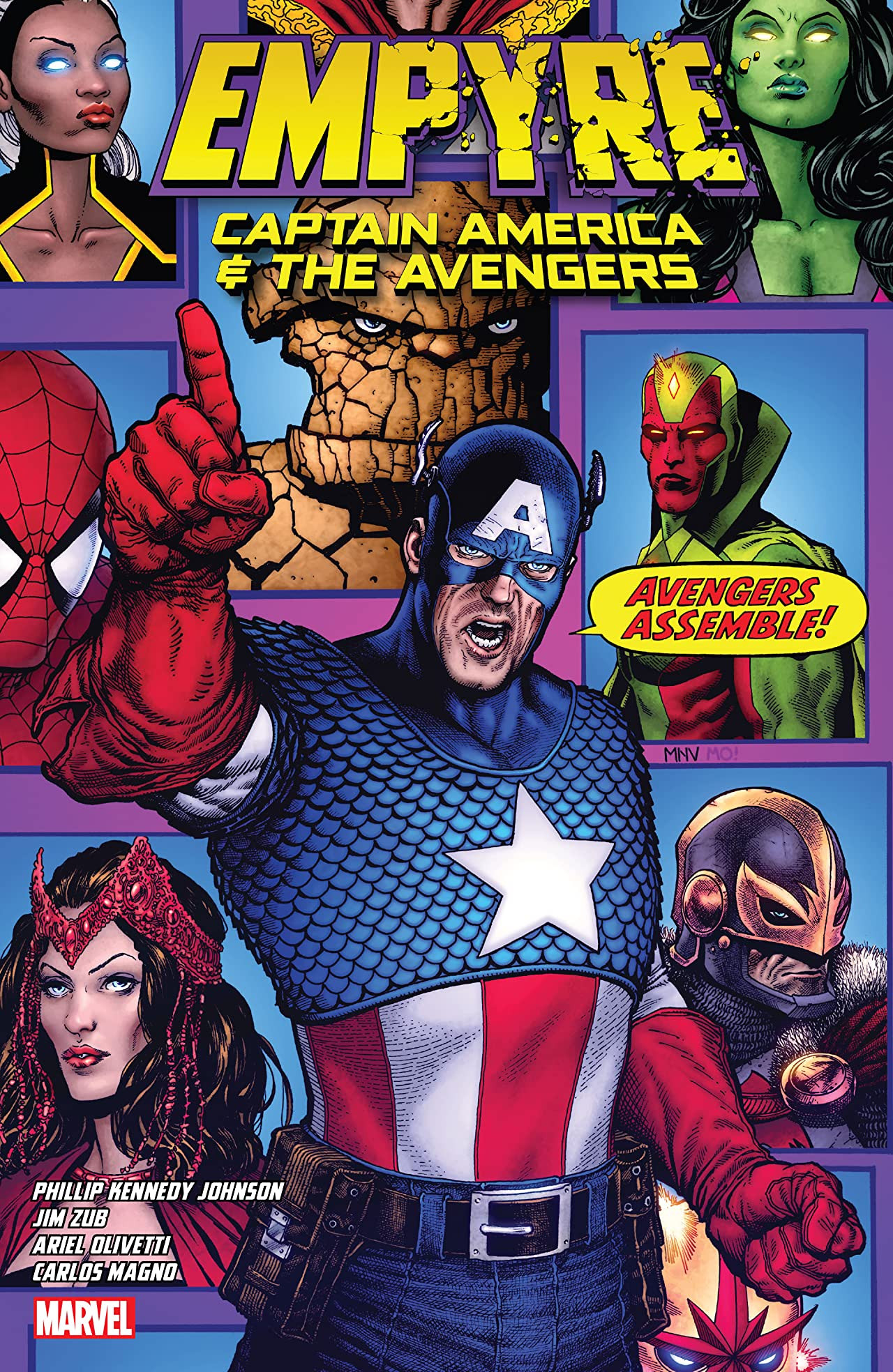 Empyre: Captain America & the Avengers TPB Vol 1