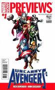 Marvel Previews Vol 2 1