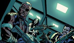 Munition Militia (Earth-616) from Daredevil Vol 5 21 001.jpg