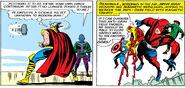 Nathaniel Richards (Kang) (Earth-6311) vs Avengers (Earth-616) from Avengers Vol 1 8 0002