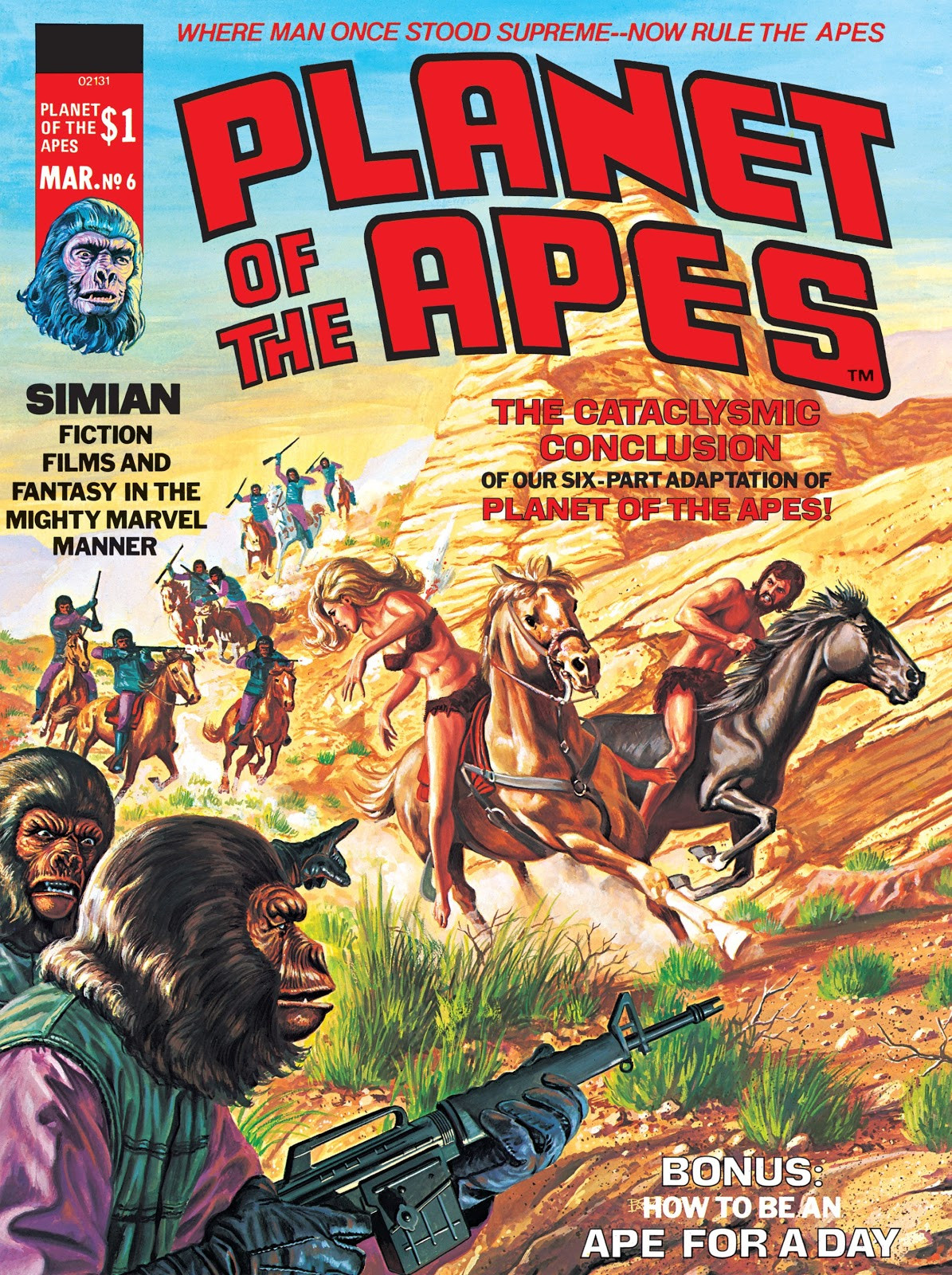 Planet of the Apes Vol 1 6