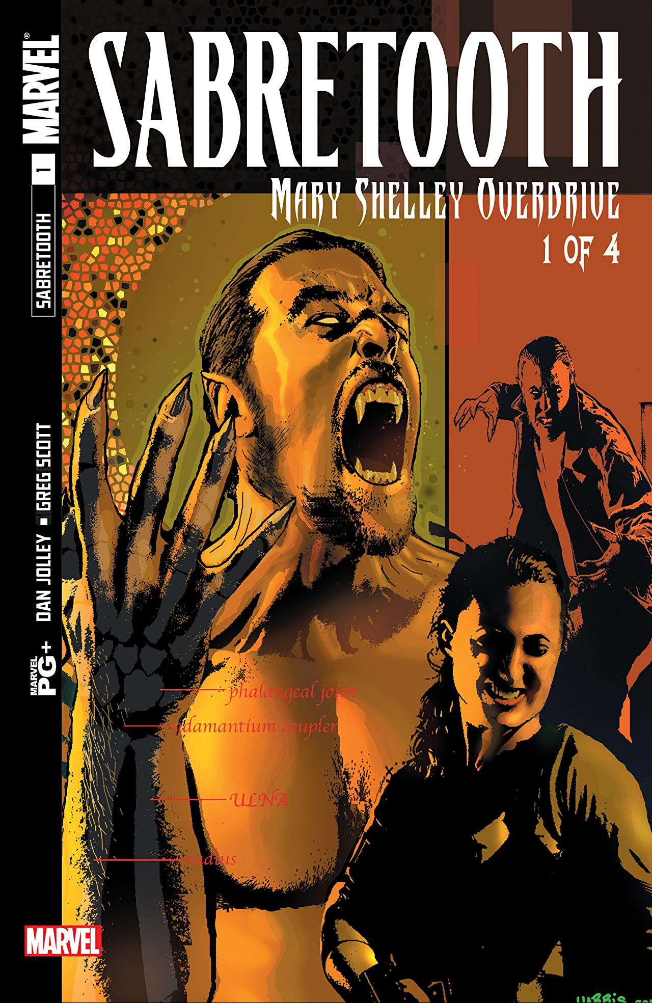 Sabretooth: Mary Shelley Overdrive Vol 1 1