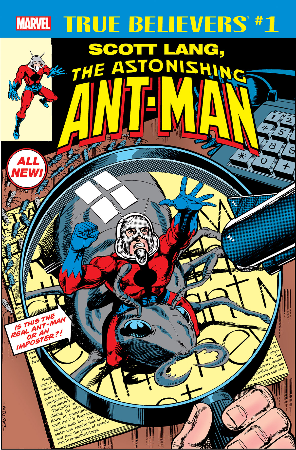 True Believers: Scott Lang, The Astonishing Ant-Man Vol 1