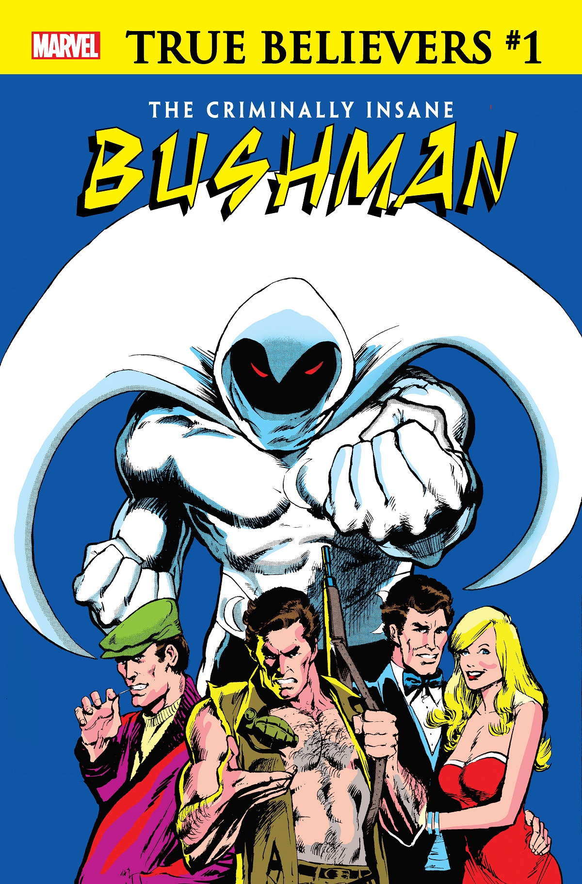 True Believers: The Criminally Insane - Bushman Vol 1 1