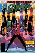 Uncanny Avengers Vol 3 28 Lenticular Homage Variant