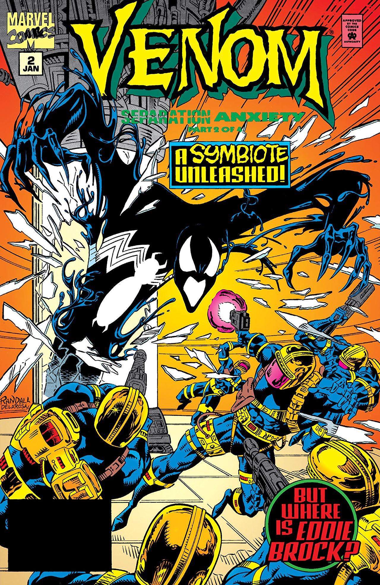 Venom: Separation Anxiety Vol 1 2