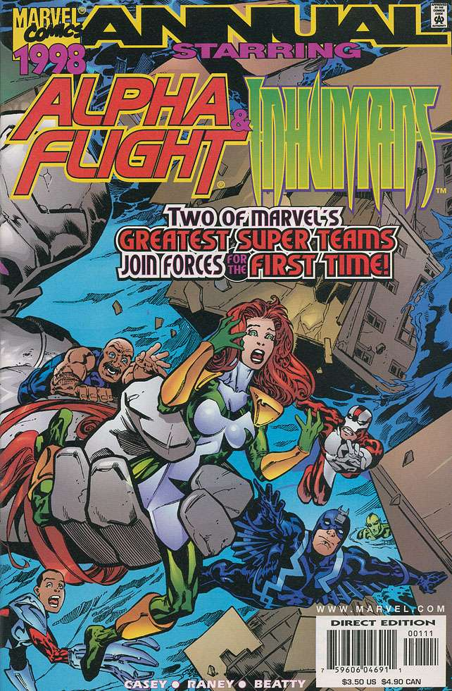 Alpha Flight / Inhumans Vol 1 '98