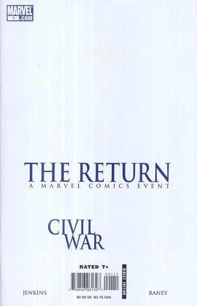 Civil War: The Return Vol 1 1
