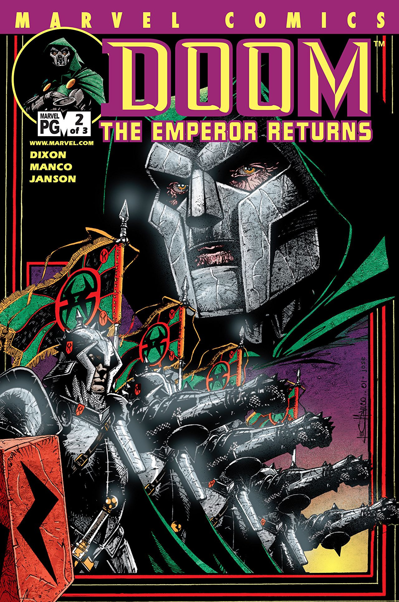 Doom: The Emperor Returns Vol 1 2
