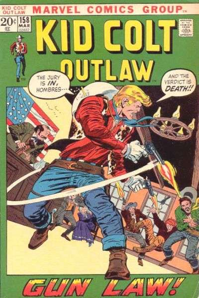 Kid Colt Outlaw Vol 1 158