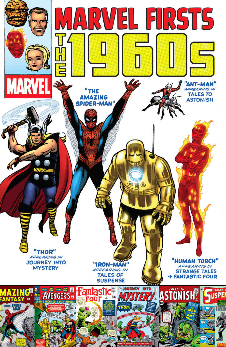 Marvel Firsts: The 1960s Vol 1 1