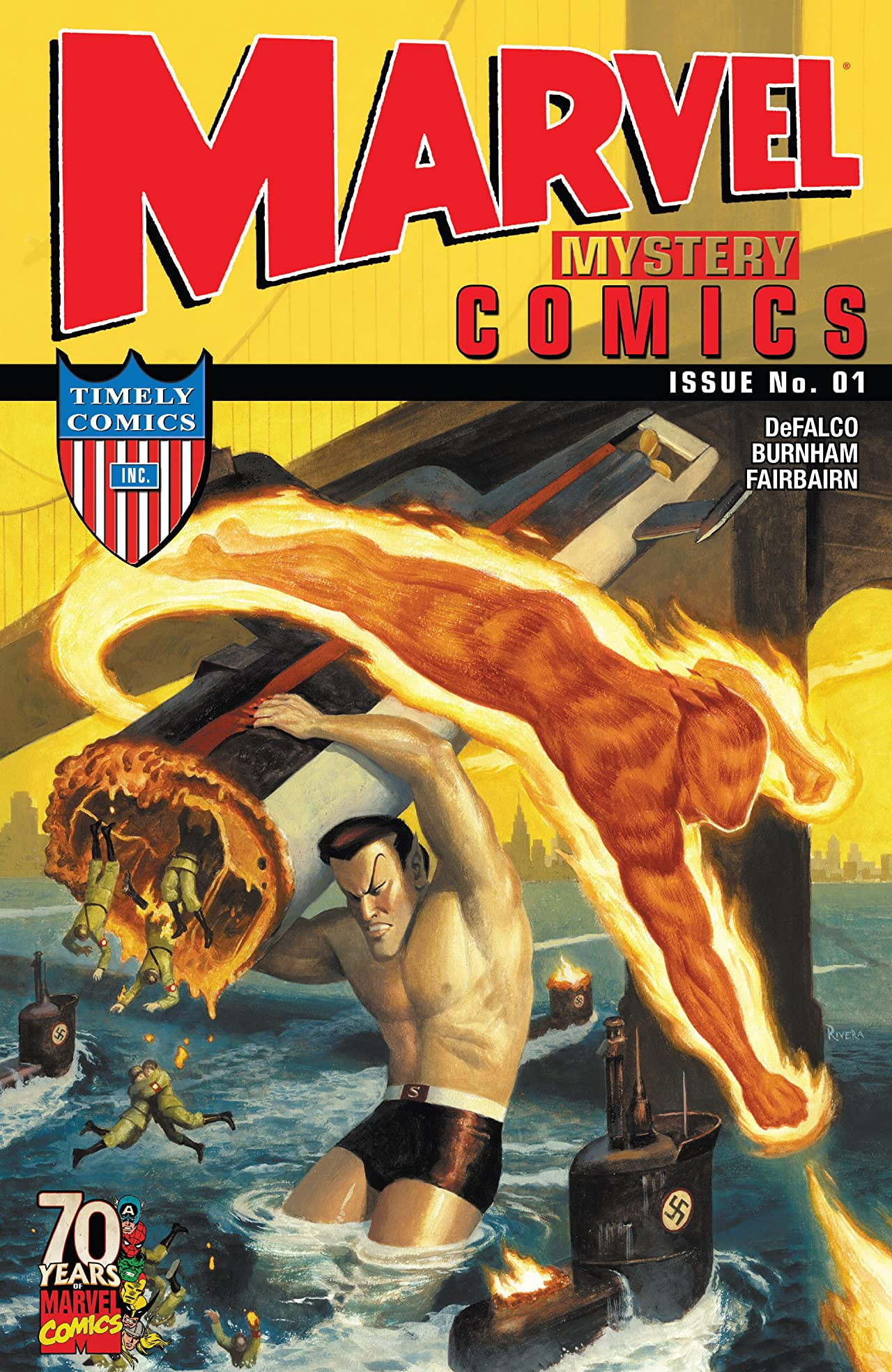 Marvel Mystery Comics 70th Anniversary Special Vol 1 1