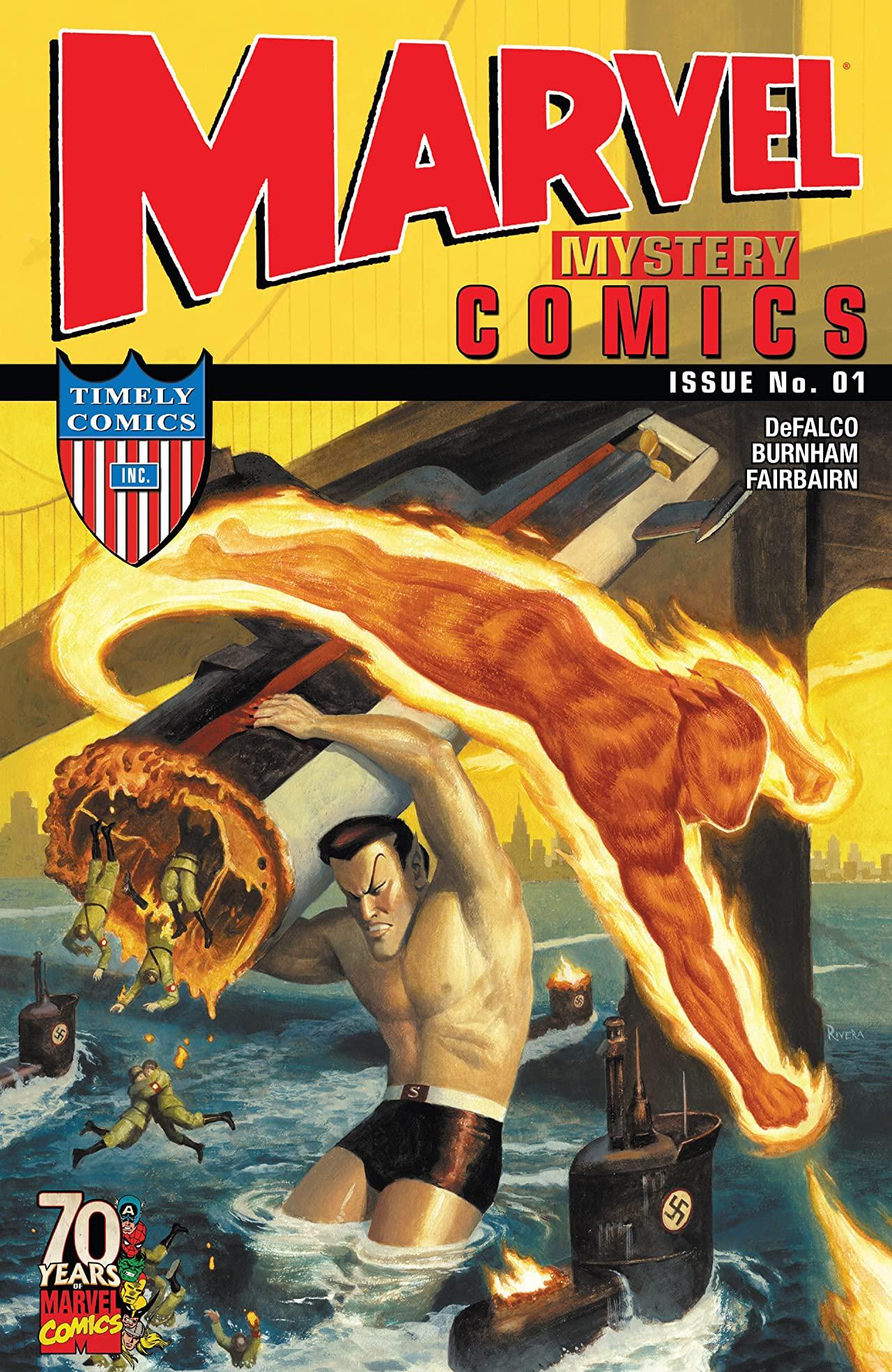 Marvel Mystery Comics 70th Anniversary Special Vol 1 1