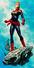 Mighty Captain Marvel Vol 1 2 Corner Box Variant Textless