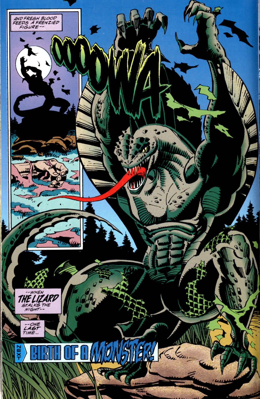 Lizard (Creature) (Earth-616)
