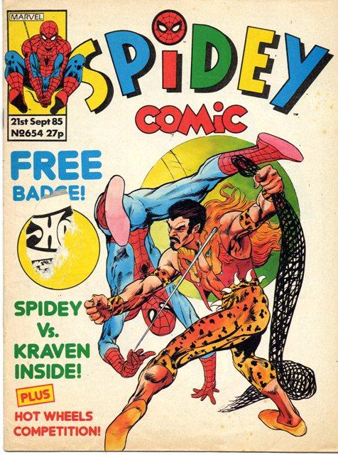 Spidey Comic Vol 1
