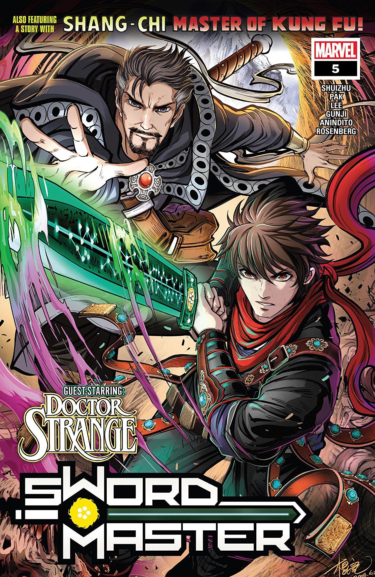 Sword Master Vol 1 5