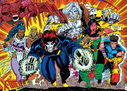X-Men (Earth-928) from X-Men 2099 Vol 1 1 0001.jpg