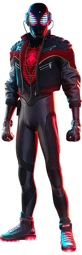 2020 Suit from Marvel's Spider-Man Miles Morales 001.png