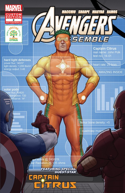 Avengers Assemble Featuring Captain Citrus Vol 1 2