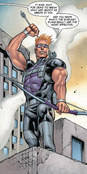 Clinton Barton (Earth-616) from Harley-Davidson - Avengers Vol 1 1 001.png