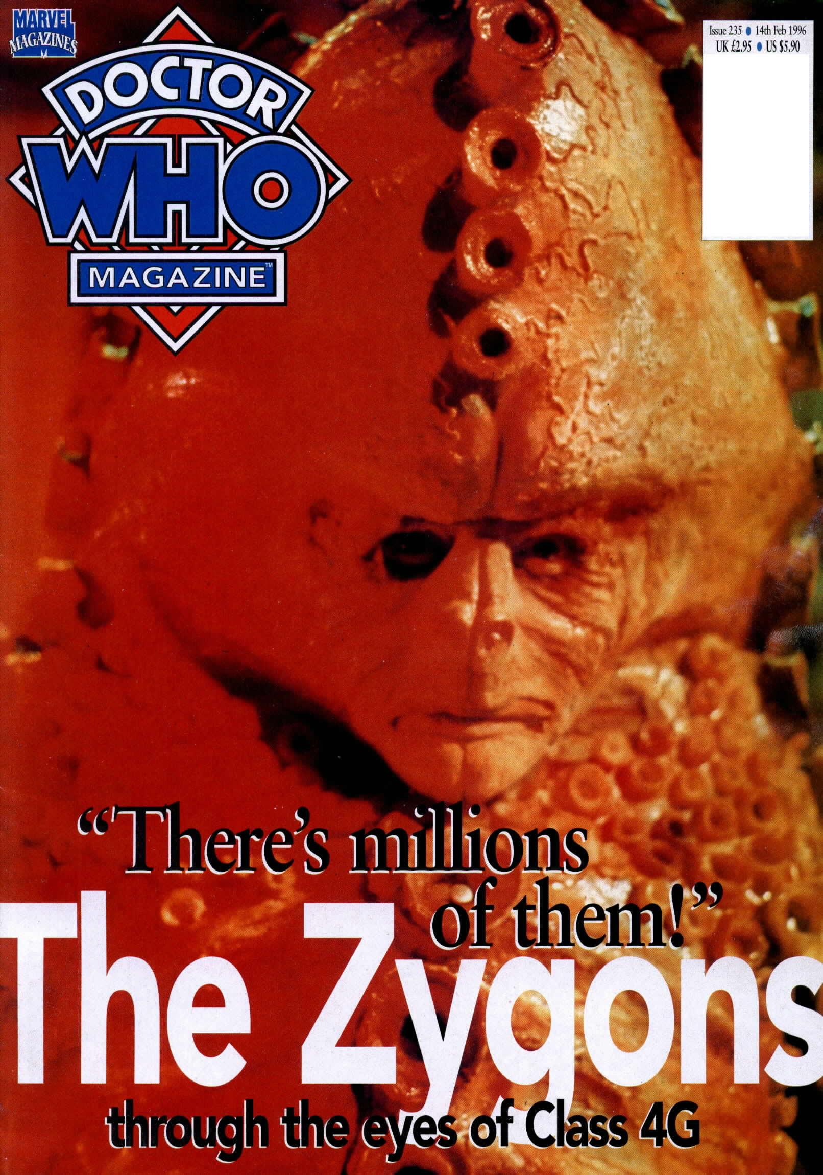 Doctor Who Magazine Vol 1 235