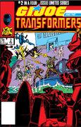 G.I. Joe and the Transformers Vol 1 2