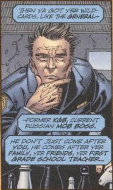 General (Russian Mafia) (Earth-616)