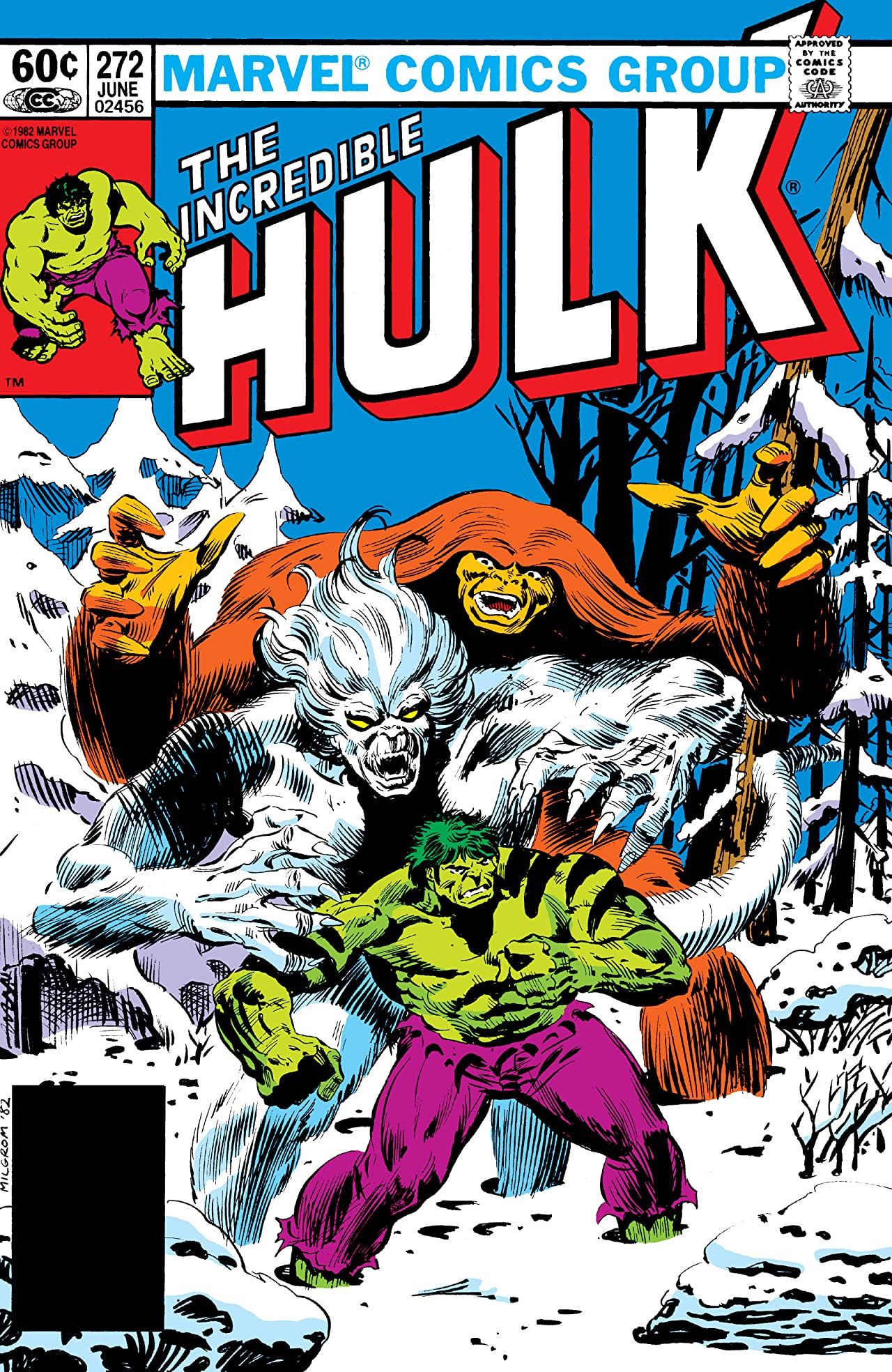 Incredible Hulk Vol 1 272