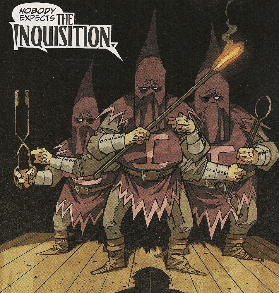 Inquisition (Terrorists) (Earth-616)/Gallery