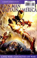 Iron Man Captain America Casualties of War Vol 1 1