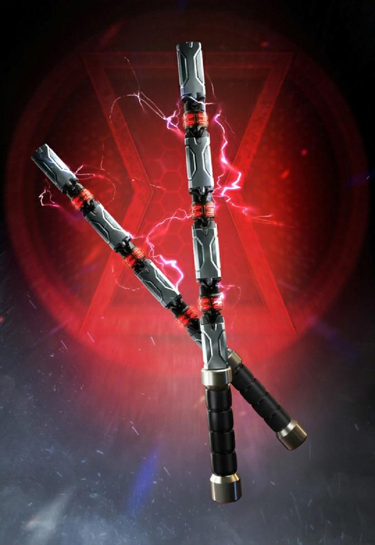 Black Widow's Batons