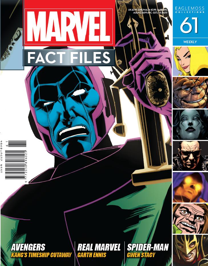 Marvel Fact Files Vol 1 61