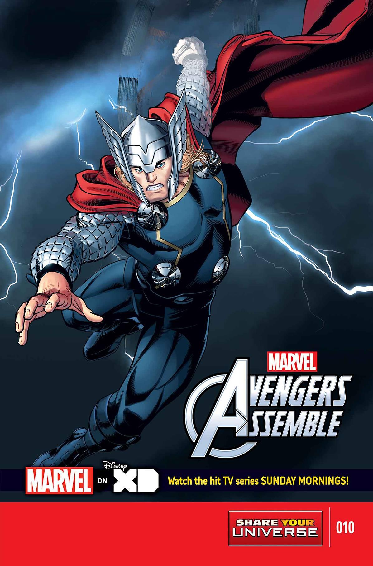 Marvel Universe: Avengers Assemble Vol 1 10