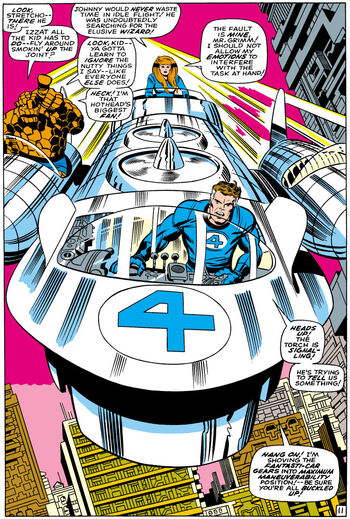 Mister Fantastic leads the new team into battle from Fantastic Four Vol 1 81.jpg