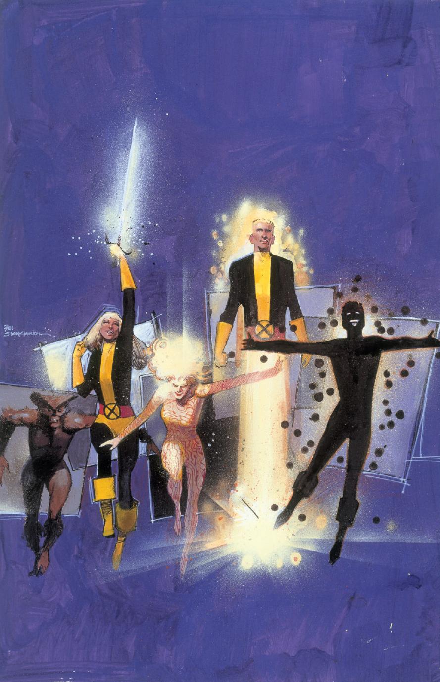 New Mutants (Earth-616)/Gallery