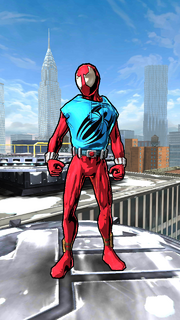 Peter Parker (Ben Reilly) (Earth-TRN469) from Spider-Man Unlimited (video game) 001.png