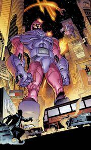Sentinels (Earth-1610) from Ultimate X-Men Vol 1 1 001.jpg