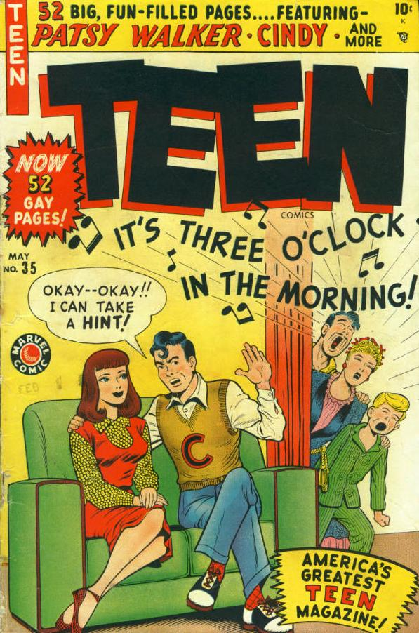 Teen Comics Vol 1 35