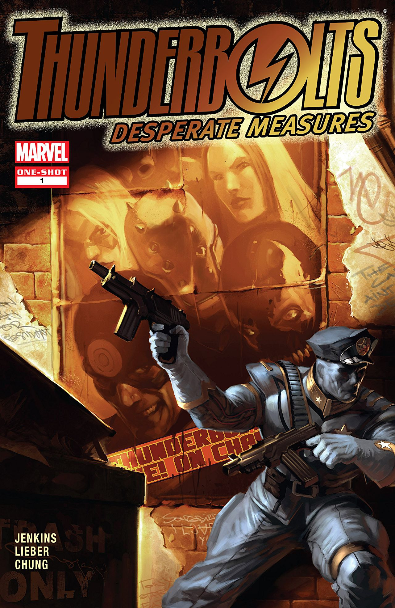 Thunderbolts Desperate Measures Vol 1 1