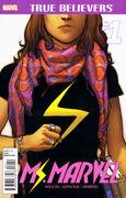 True Believers Ms. Marvel Vol 1 1