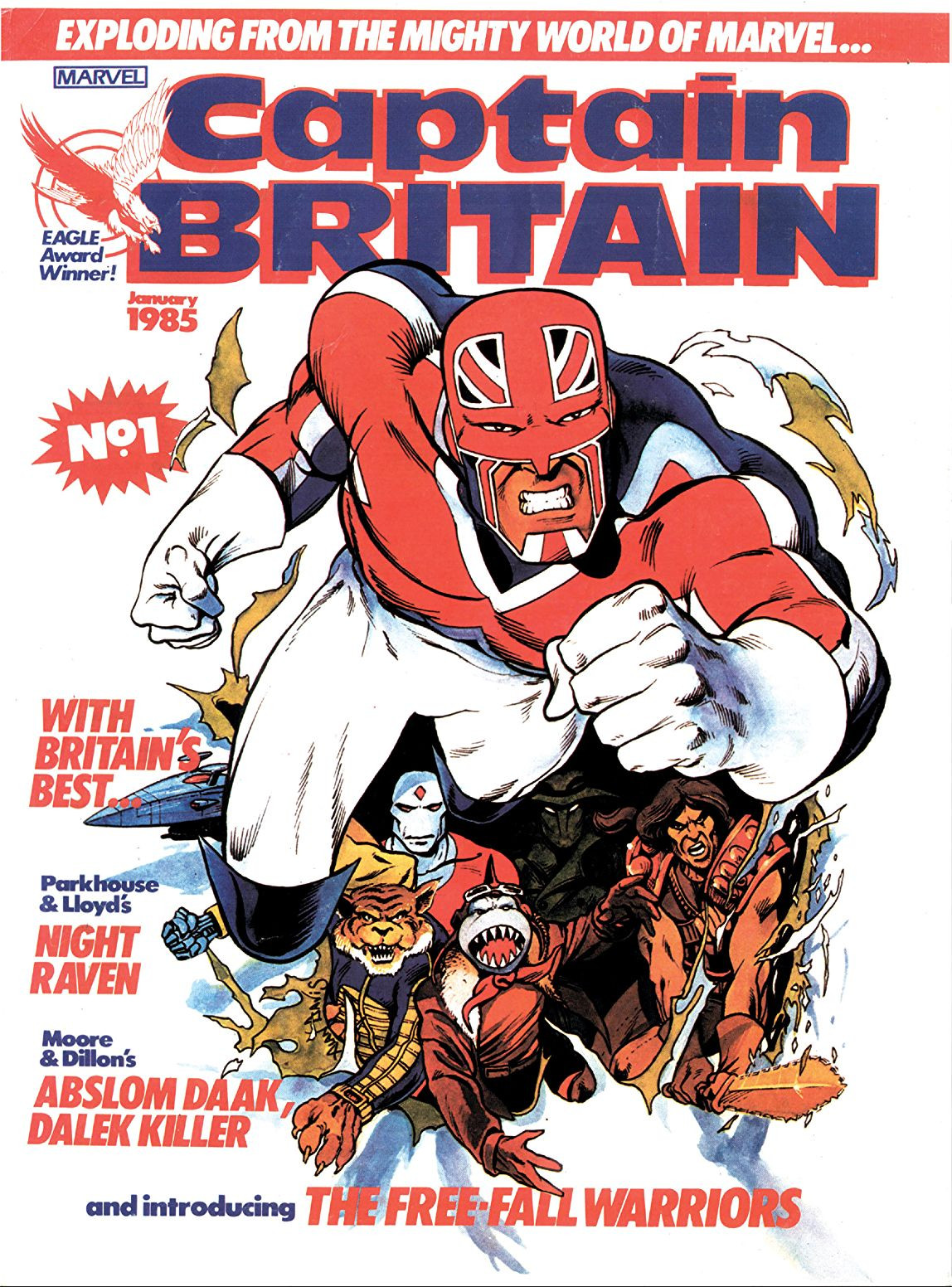 Captain Britain Vol 2 1