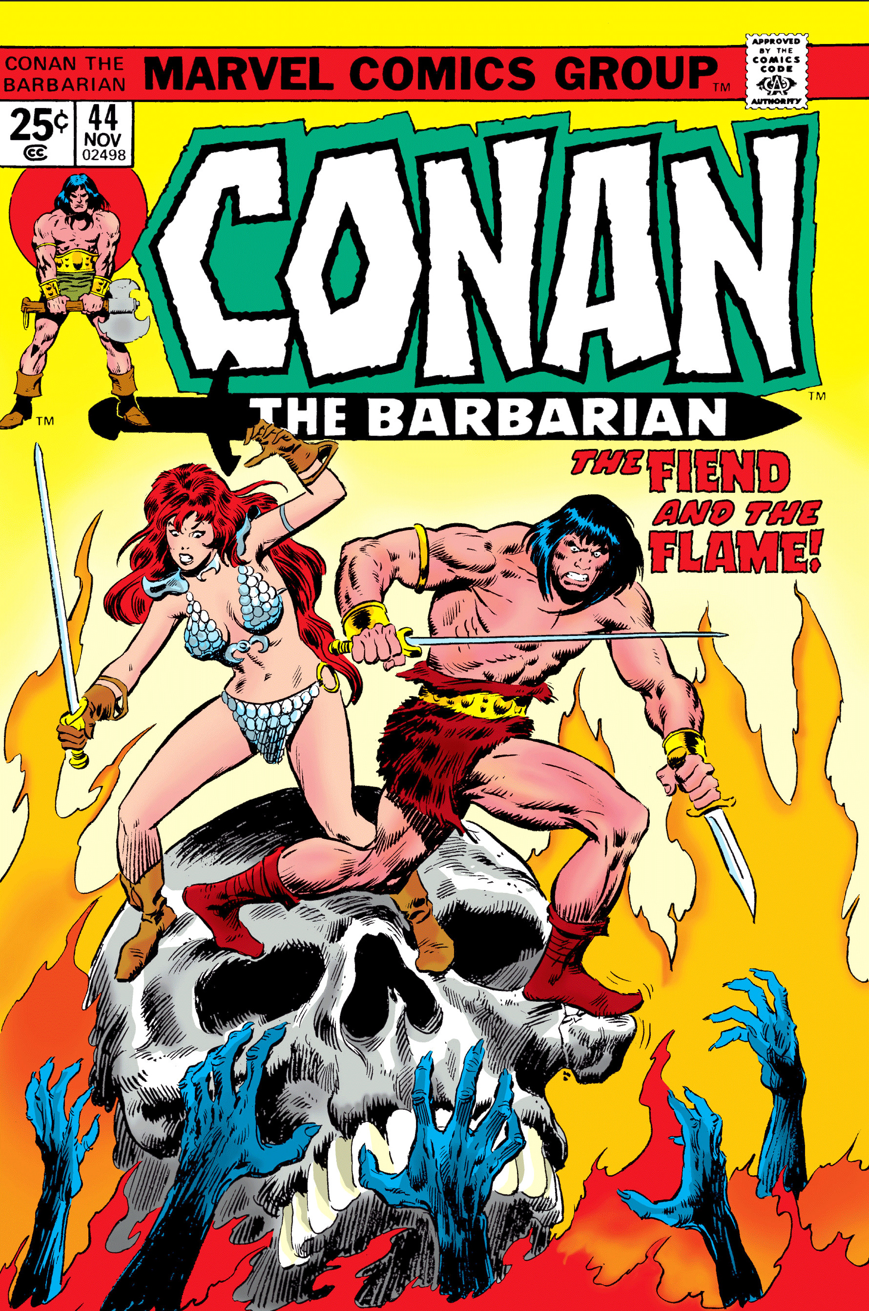 Conan the Barbarian Vol 1 44