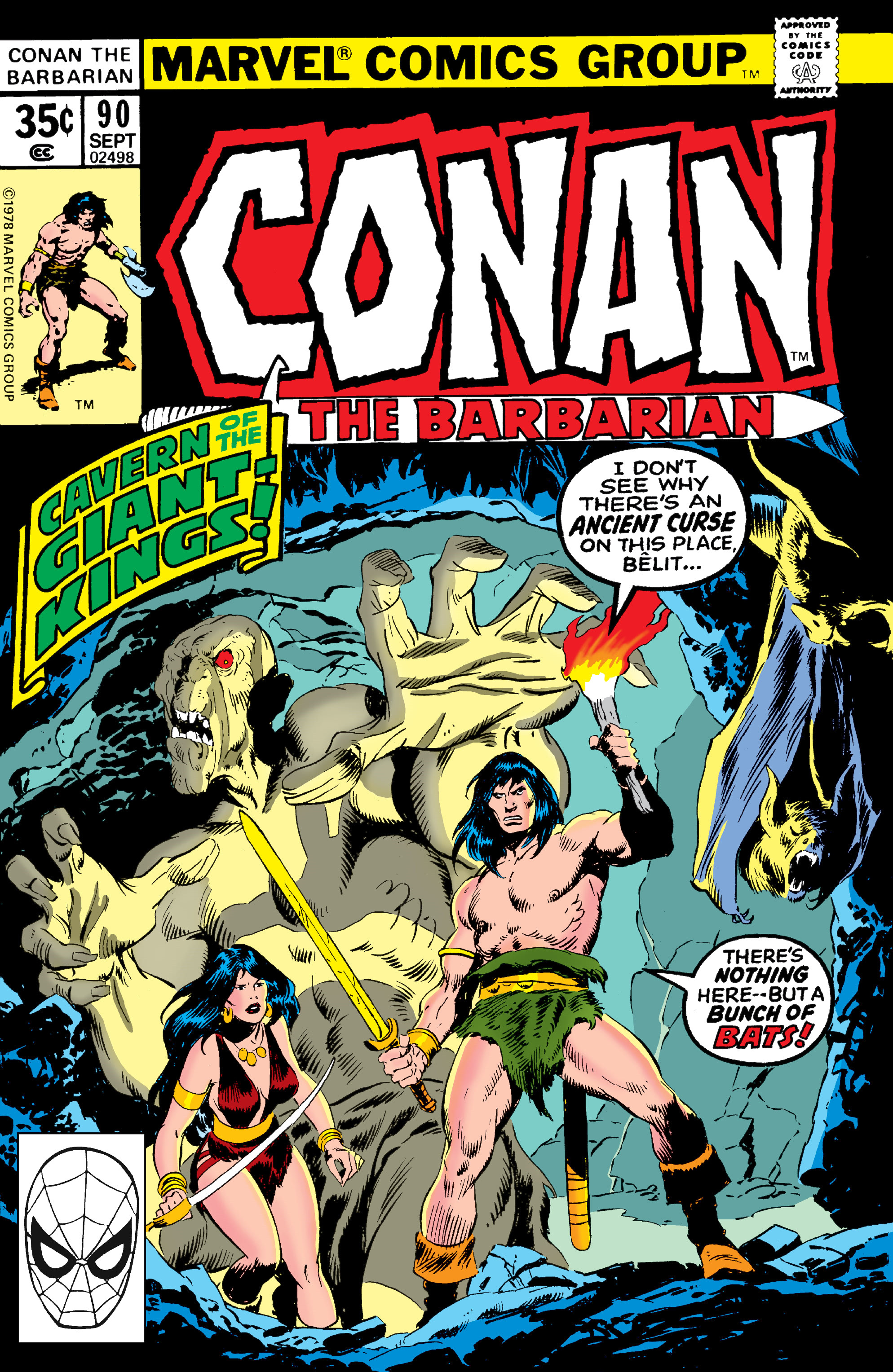 Conan the Barbarian Vol 1 90