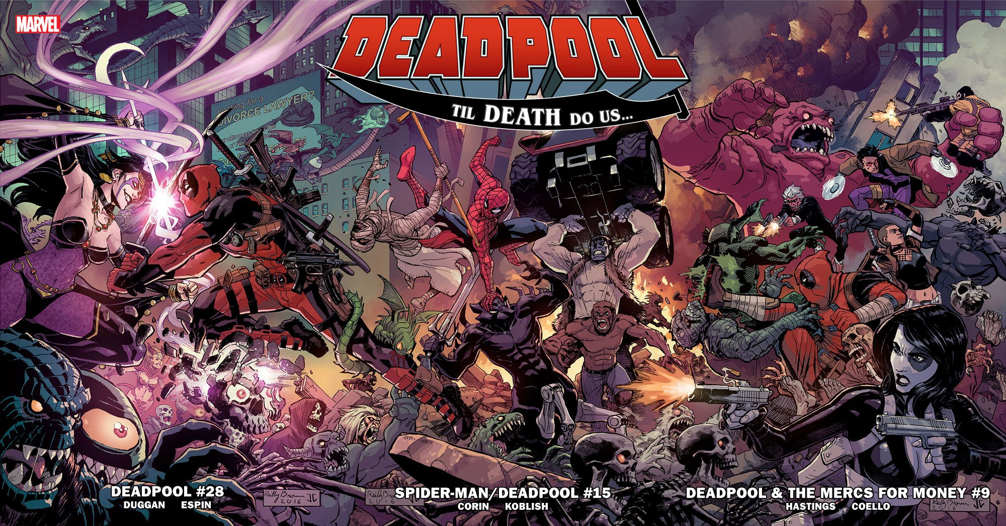 Deadpool: Til Death Do Us...
