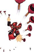 Deadpool Vol 6 7 Young Variant Textless