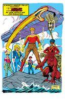 New Mutants Annual Vol 1 5 Pinup 3