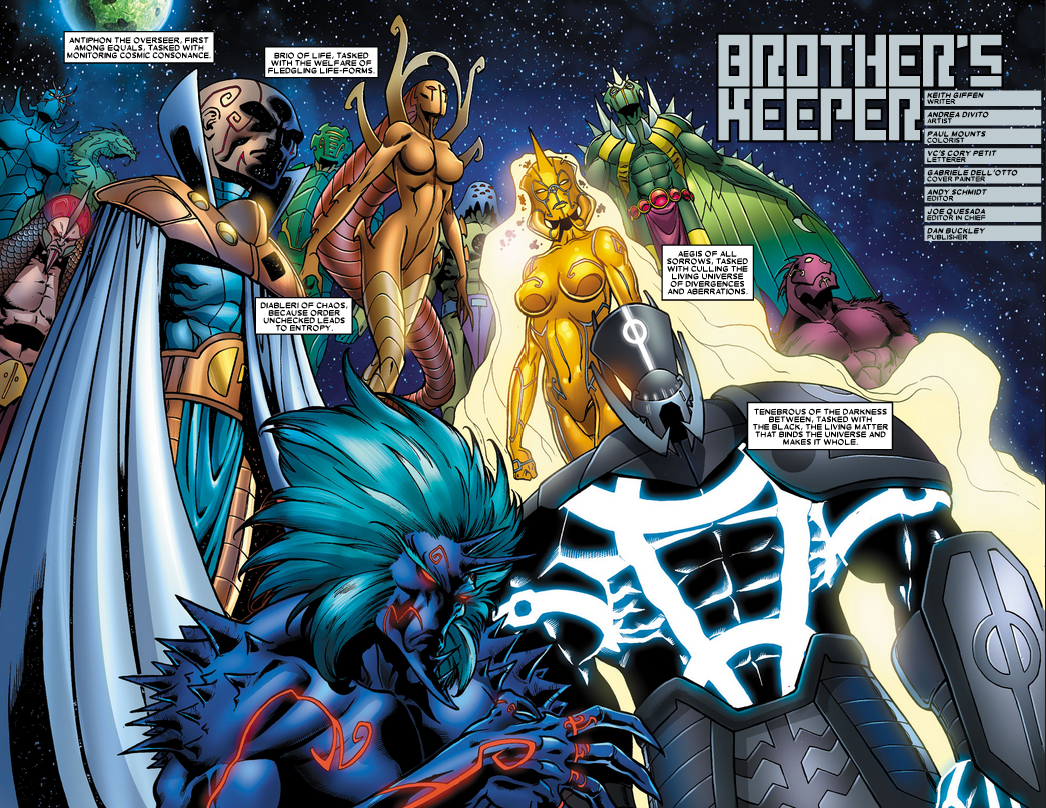 Proemial Gods from Annihilation Heralds of Galactus Vol 1 2 0001.png